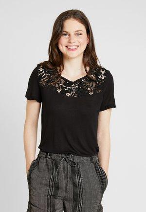 ONLALBA MIX - T-Shirt print - black