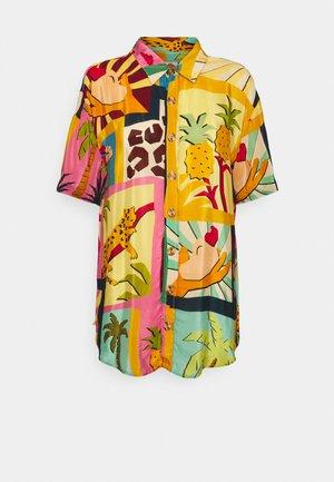 COLLAGE PAJAMA SHIRT - Skjorte - tropical