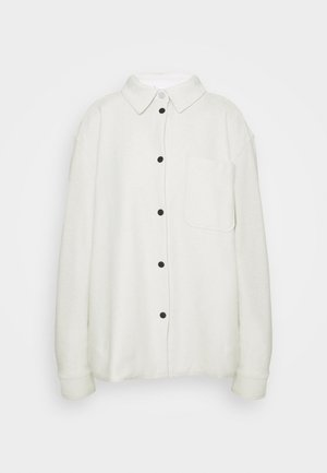 OVERSHIRT - Button-down blouse - light beige