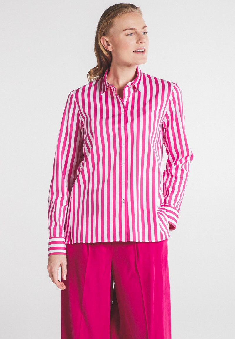 Eterna - Button-down blouse - pink weiss