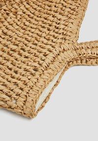 PULL&BEAR - Tote bag - sand - 4