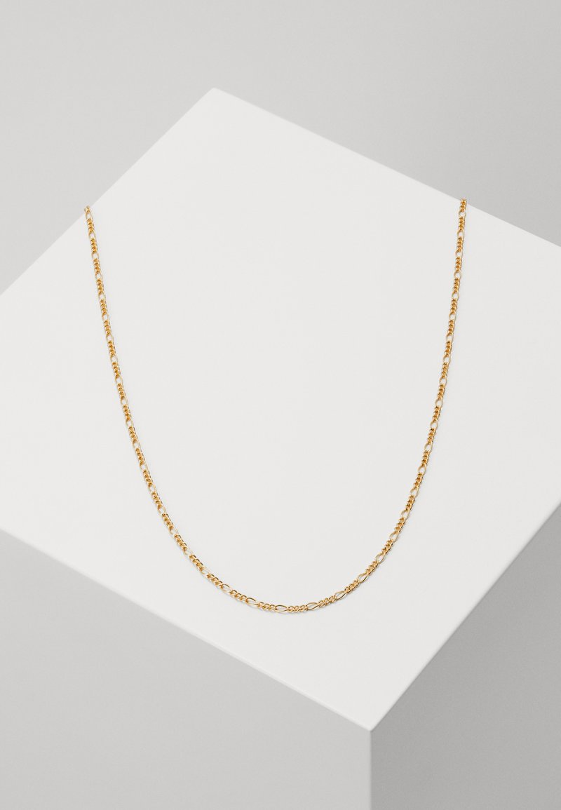 Orelia - FIGARO CHAIN NECKLACE - Náhrdelník - pale gold-coloured