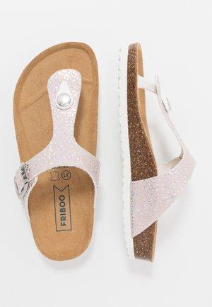 Sandaler m/ tåsplit - light pink