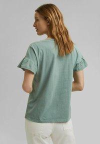 Esprit - WASH TEE - Print T-shirt - turquoise - 3