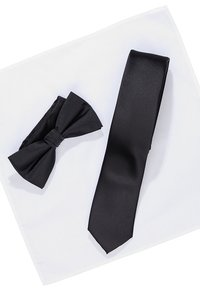Jack & Jones - JACNECKTIE GIFT BOX - Fazzoletti da taschino - black - 6