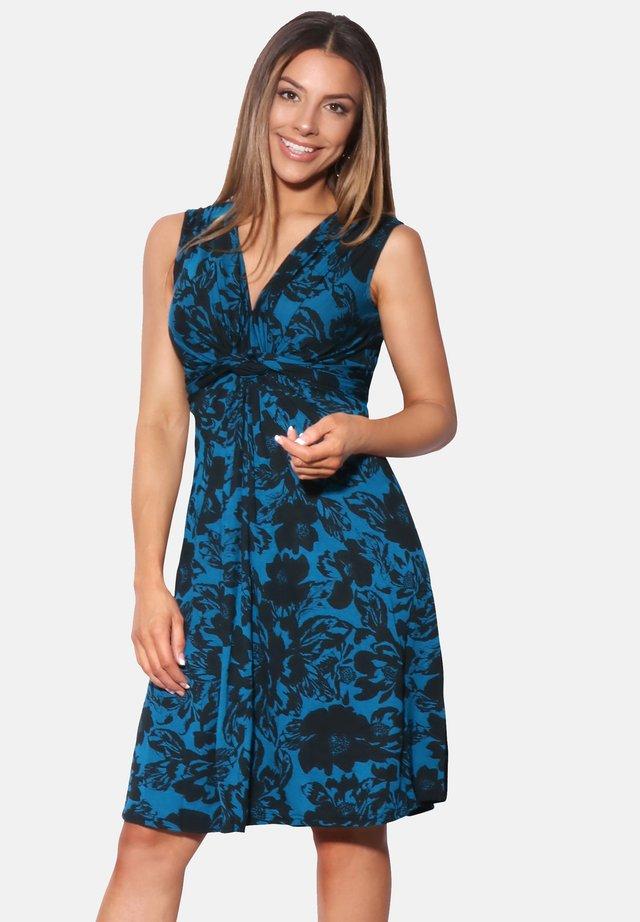 Jersey dress - teal