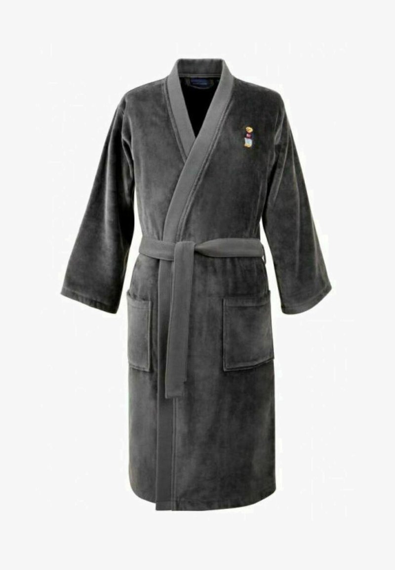 Polo Ralph Lauren - TEDDY BEAR  - Dressing gown - charcoal