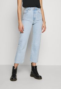 Abrand Jeans - A VENICE STRAIGHT - Straight leg jeans - bleached stone - 0