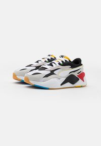 Puma - RS-X³ WH JR - Trainers - white/black - 1