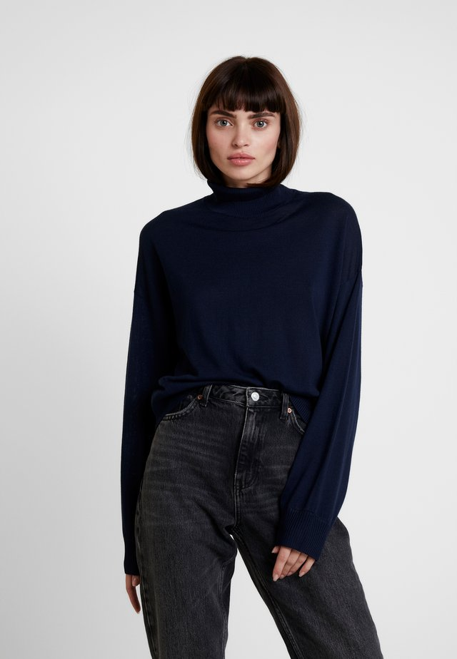 KLEO TURTLENECK - Sweter - night sky