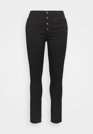 CARAUGUSTA BUTTON - Skinny džíny - black