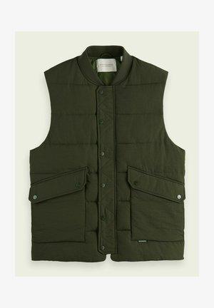 Waistcoat - utility green