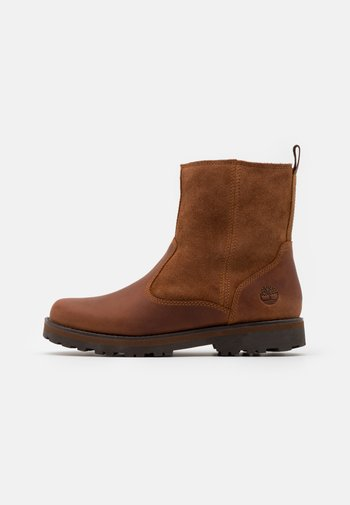 COURMA KID WARM LINED UNISEX - Classic ankle boots - glazed ginger