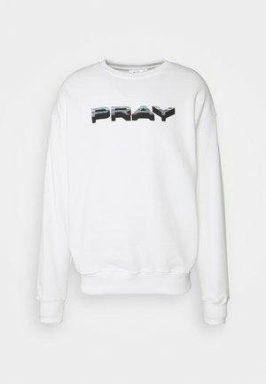 STATICLONG SLEEVE UNISEX - Sweatshirts - white