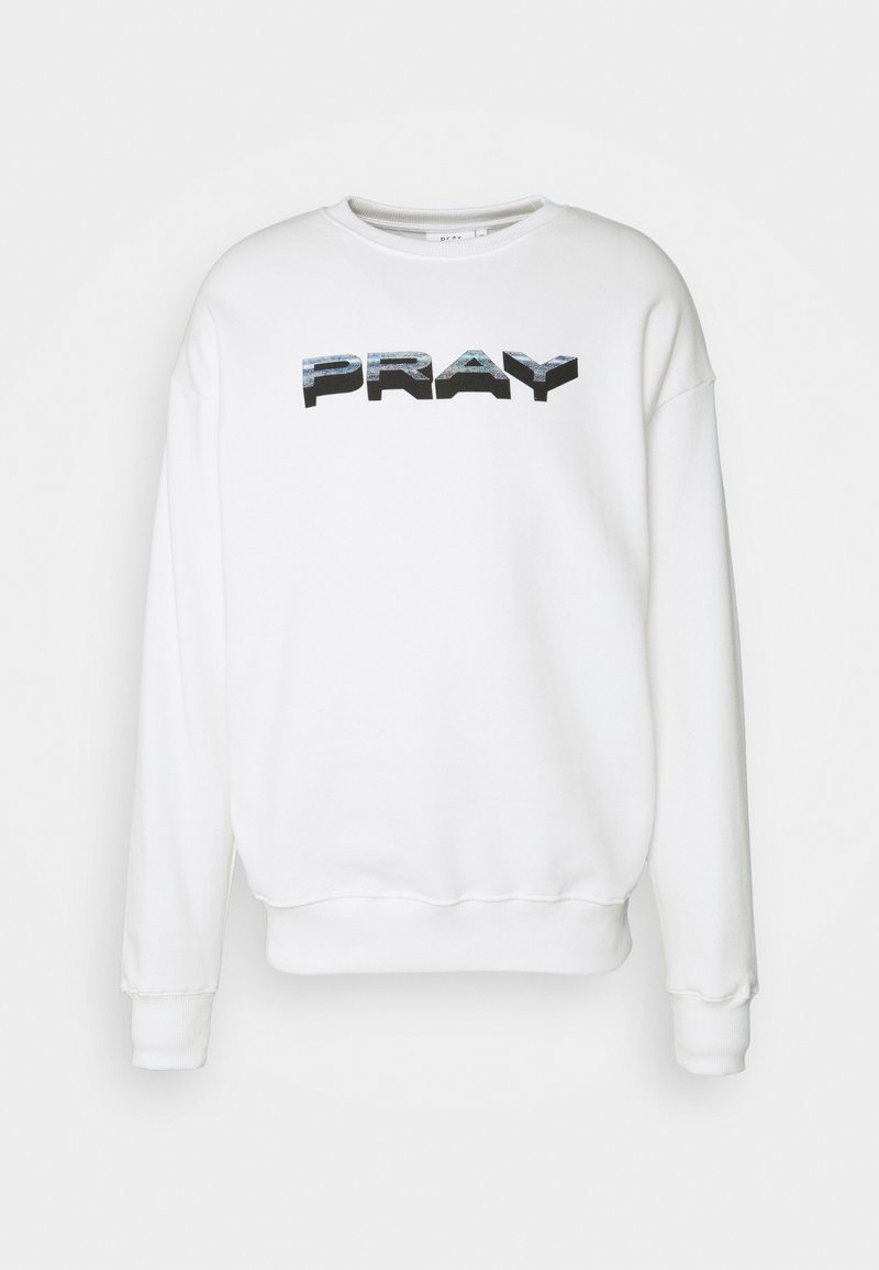 PRAY - STATICLONG SLEEVE UNISEX - Collegepaita - white