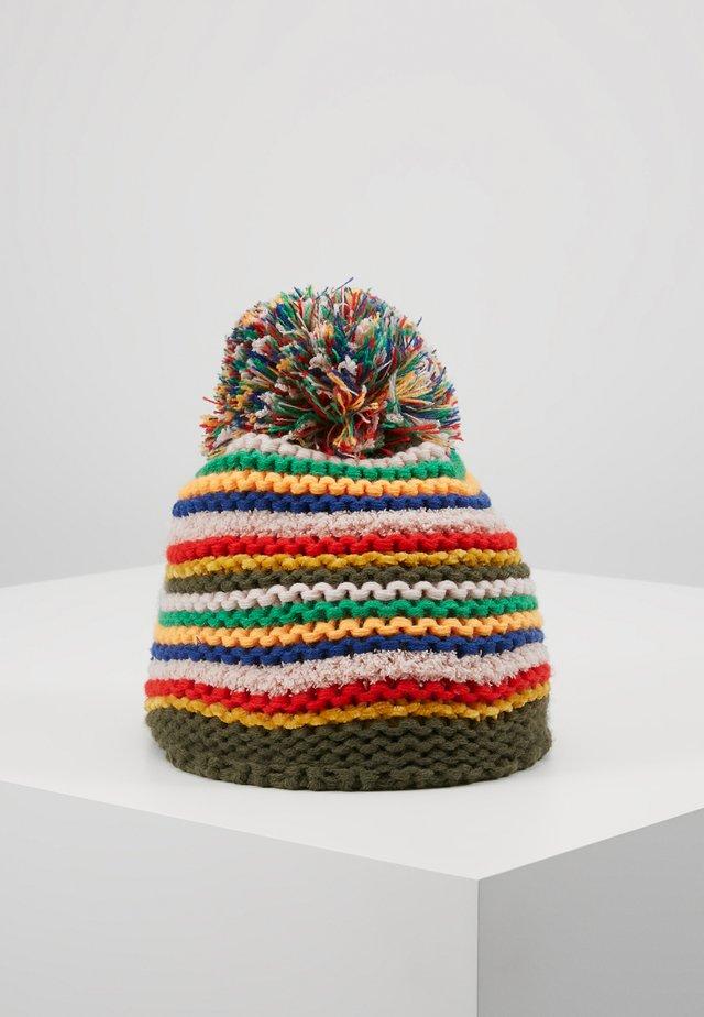 KID TEENAGER - Czapka - khaki/multicolor