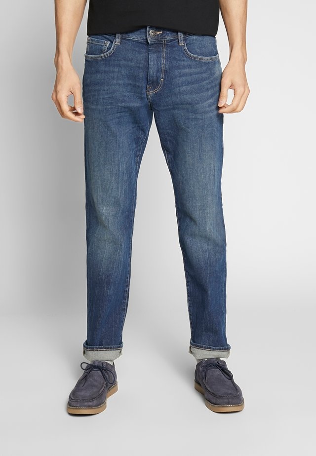 MARVIN - Jeans a sigaretta - mid stone wash denim