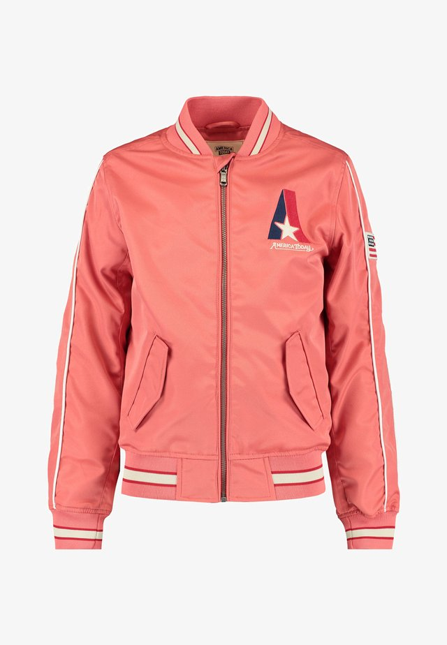 Bomber Jacket - coral