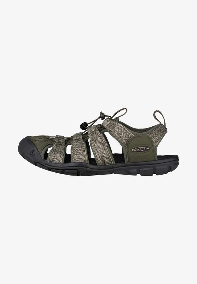 Walking sandals - forest night/black