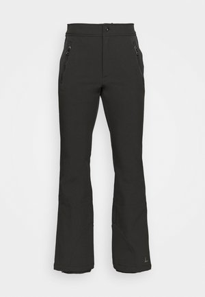 GEBBELBY - Snow pants - black gunmetal