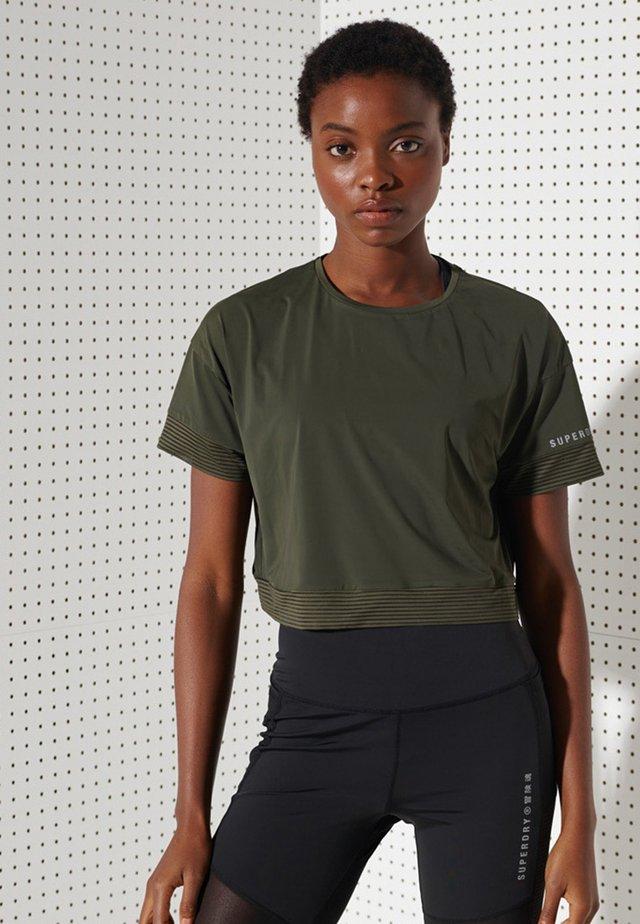 Basic T-shirt - army khaki