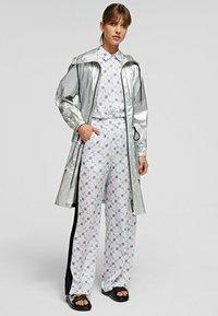 KARL LAGERFELD - Waterproof jacket - silver - 1