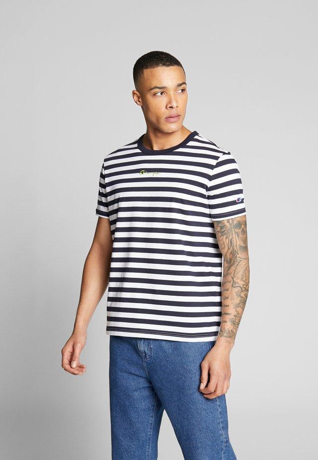 STRIPE EXCLUSIVE - T-shirt print - black/blue