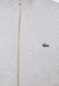 Lacoste - Zip-up sweatshirt - gris chine - 5