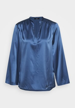 YUNA LUXURY - Blůza - smoky blue