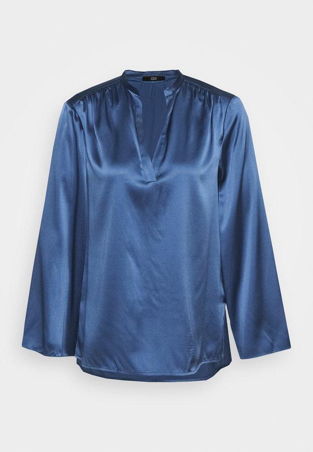YUNA LUXURY - Blouse - smoky blue