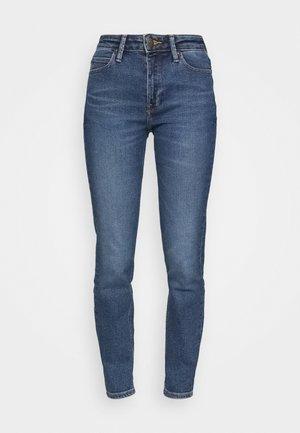 SCARLETT HIGH - Jeans Skinny Fit - blue denim