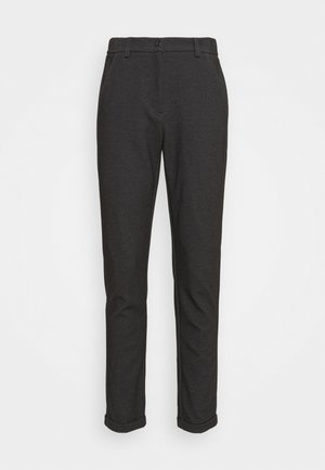 MELINA FRESH - Trousers - black