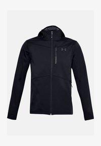 Under Armour - Fleece jacket - black - 2