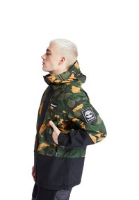 Timberland - CAMO ARCHIVE MOUNTAIN TRAIL - Leichte Jacke - duffel bag/wheat boot house camo-black - 4