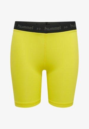 Shorts - blazing yellow