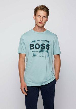 TLOGO - T-shirt imprimé - turquoise