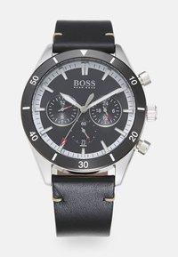 BOSS - SANTIAGO - Chronograph watch - black - 0