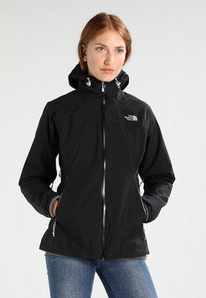 STRATOS JACKET - Hardshellová bunda - black