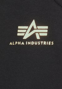 Alpha Industries - BASIC JOGGER FOIL - Tracksuit bottoms - black/yellow gold - 5