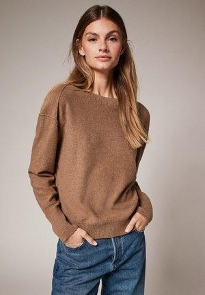 Jumper - brown melange