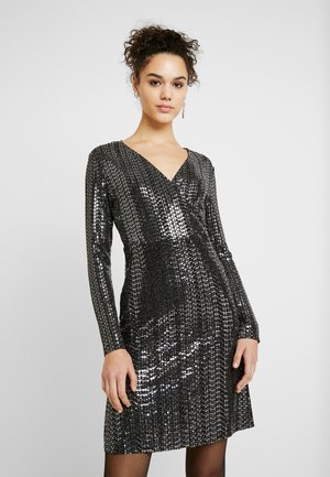 Robe d'été - black/silver
