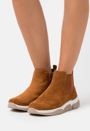 ROLLING SOFT  - Ankle boots - camel