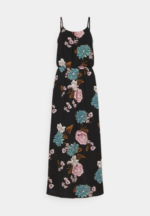 ONLWINNER - Robe longue - black/field of flower