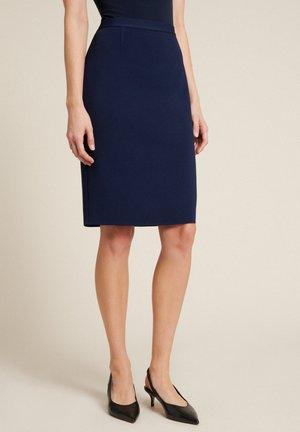 A-line skirt - blu