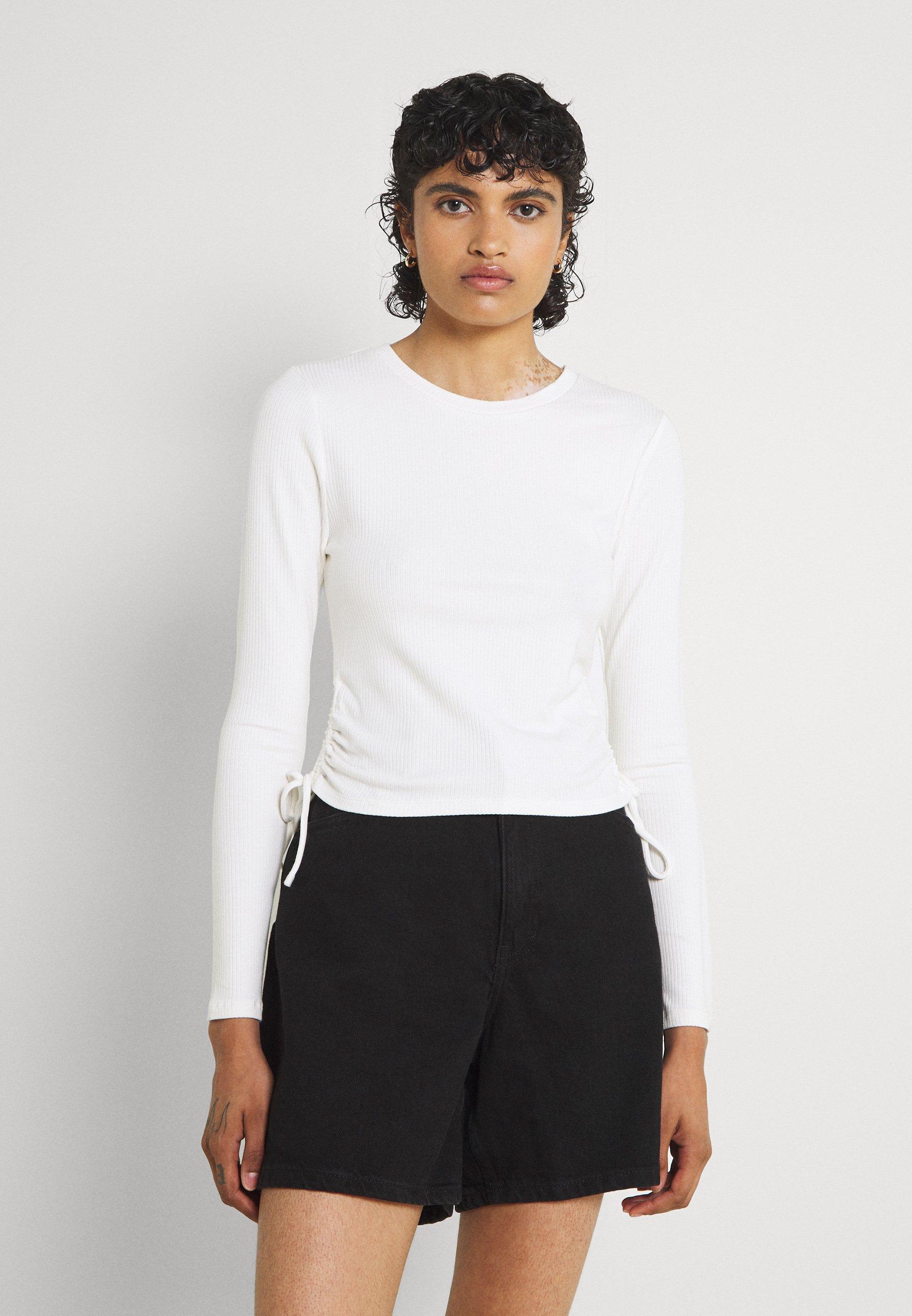 Femme DANA DRAWSTRING LONG SLEEVE - T-shirt à manches longues