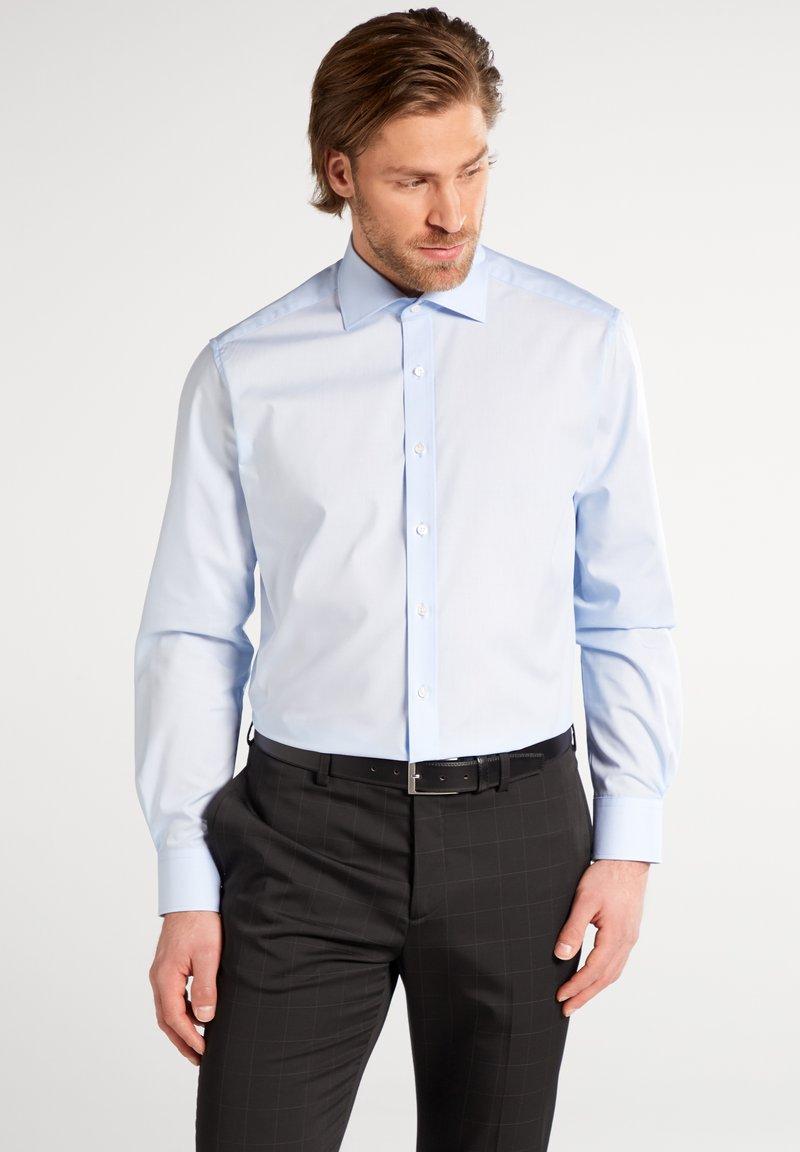 Eterna - FITTED WAIST - Shirt - blau