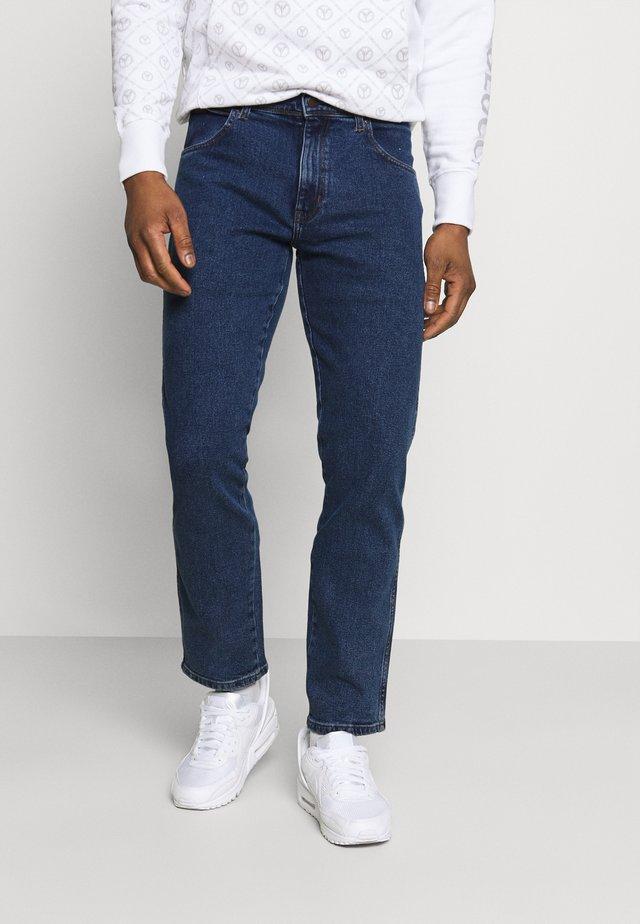 TEXAS - Straight leg jeans - blast blue