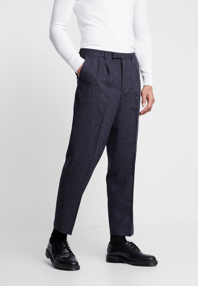 TROUSER - Spodnie materiałowe - charcoal