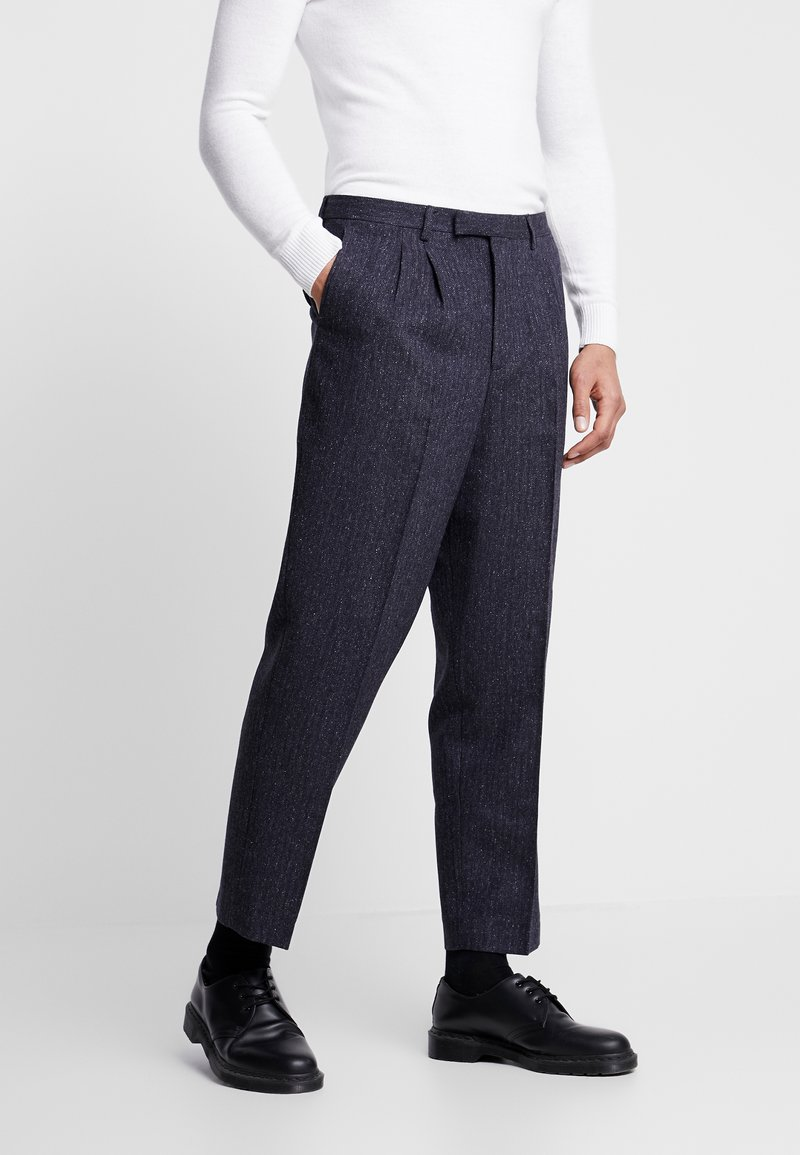 Twisted Tailor - TROUSER - Trousers - charcoal