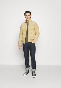 Cotton On - PUFFER JACKET - Light jacket - sand - 1